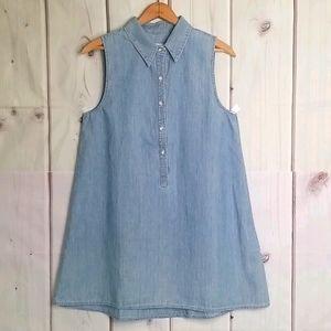 Rag & Bone Denim Chambray Tunic Dress Size Small